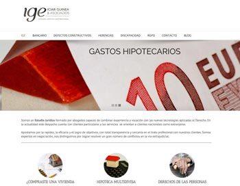 Diseño web / Estudio jurídico